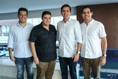 Fred Landim, Ygor Cordeiro, Élcio Demetrio e Icara Vasconcelos