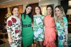 Isabela Fonseca, Thalita Carneiro, Rafaela e Gabriela Fonseca e Ingrid Lucena