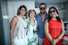 Joseane, Zelma e Adrisio Câmara e Celina Castro Alves
