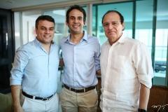 Marcos Freire, Galdencio Lucena Junior e Orlando Fonseca