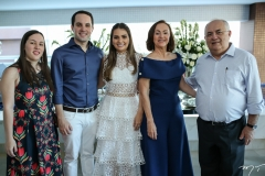 Maria Fátima e Tomás Morais, Manuela Câmara, Gorete e Philomeno Morais