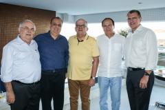 Philomeno Morais, Max Câmara, Fernando Ximenes, Orlando Fonseca e Randal Pompeu