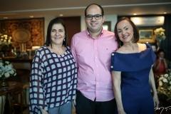 Silva Holanda, Jório Câmara e Gorete Morais