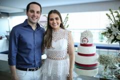Tomás Morais e Manuela Câmara