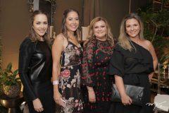 Patrícia Sampaio, Ludmila Amaral, Larissa Maia e Alexia Fontes