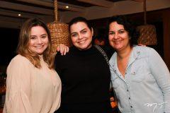 Carla Rodrigues, Renata Benevides e Monaliza Ximenes
