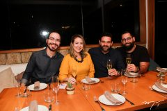 Italo Borges, Izakeline Ribeiro, Clovis Holanda e Luis Victor Torres