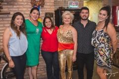 Ana Carolina Palhano, Cecília Medeiros, Laura Bandeira, Jô Ramalho, Matheus Duarte e Rebecca Vignoli