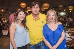 Ana Carolina Palhano, Enzo Agrest e Solange Palhano