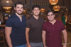 Bruno Perdigão, Kalil Chaves e Júlio Bezerra