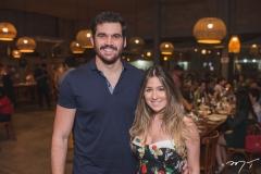 Bruno Perdigão e Amanda Maia