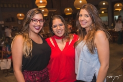 Emanuela Campelo, Laura Bandeira e Ana Carolina Palhano