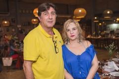 Enzo Agrest e Solange Palhano