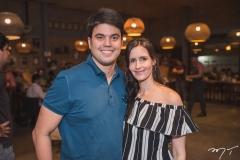 Igor Perdigão e Júlia Marinho