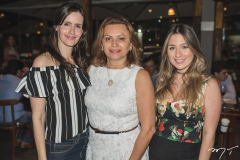 Júlia Marinho, Verônica Perdigão e Amanda Maia
