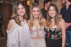 Priscila Esteves, Nicole Benevides e Amanda Maia