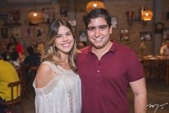 Priscila Esteves e Júlio Bezerra