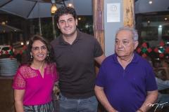 Teresa Bezerra, Kalil Chaves e Oscar Santos