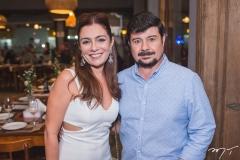 Vanessa Chaves e Marcelo Luz