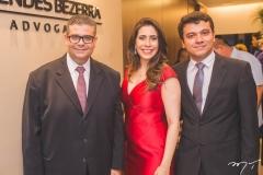 Ademar Mendes Bezerra Jr., Aline Borges e Enrico Rodrigues