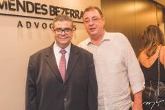 Ademar Mendes Bezerra Jr. e Aristênio Canamary