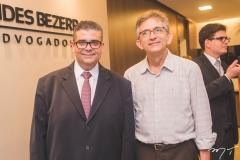 Ademar Mendes Bezerra Jr. e Roberto Saraiva