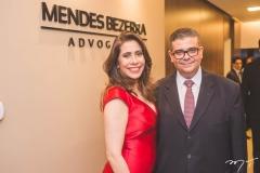 Aline Borges e Ademar Mendes Bezerra Jr.