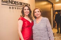 Aline Borges e Angélica Bezerra