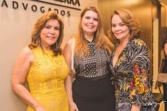 Andréa Bonorandi, Danielle Pinheiro e Lina Mendonça