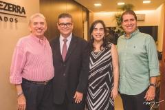 Antônio dos Santos, Ademar Mendes Bezerra Jr., Paula Bezerra e João Jorge Cavalcante