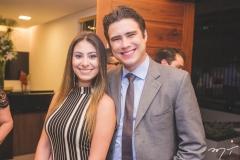 Carol Esmeraldo e Ted Ponte
