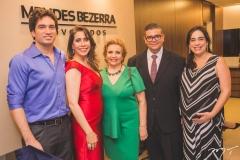 Daniel Borges, Aline Borges, Ila Bezerra, Ademar Mendes Bezerra Jr. e Paula Bezerra