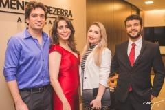 Daniel Borges, Aline Borges, Sirlene Barreto e Wesley Prudêncio