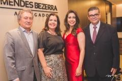 Euvaldo Bringel, Eliane Brasil, Aline Borges e Ademar Mendes Bezerra Jr.