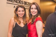 Márcia Travessoni e Aline Borges