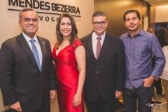 Marcelo Mota, Aline Borges, Ademar Mendes Bezerra Jr. e Potiguara Frota