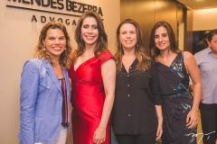 Melissa Guará, Aline Borges, Anamelia Pinheiro e Paula Fiúza