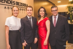 Nathalia Machado, Eduardo Vilar, Aline Borges e Ademar Mendes Bezerra Jr.