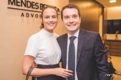 Nathalia Machado e Eduardo Vilar