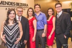 Paula Bezerra, Ademar Mendes Bezerra Jr., Aline Borges, Daniel Borges, Gabriela Benício e Rafael Saldanha