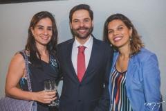 Paula Fiúza, Sávio Brito e Melissa Guará