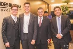 Rafael Saldanha, Paulo Porto, Ademar Mendes Bezerra Jr. e Bruno Queiroz