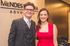 Rafael Saldanha e Gabriela Benício