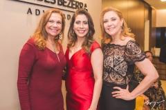 Rose Batista, Aline Borges e Andréa Delfino