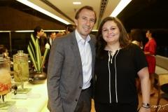 Philippe Godefroit e Katarina Martins
