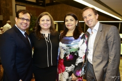 Rafael Bezerra, Katarina Martins, Celina Castro Alves e Philippe Godefroit