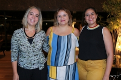 Simone Monteiro, Lorena Lemos e Germana Muniz