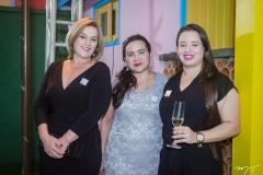 Adriana Aguiar, Carla Gaudêncio e Natasha Costa