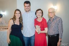 Clarissa Leão, Delano, Angélica e Narcélio Sobreira