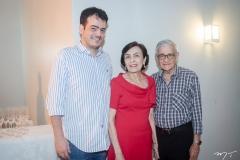 Delano, Angélica e Narcélio Sobreira